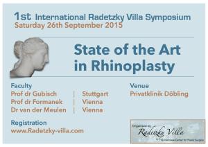 Flyer 1st Radetzky Villa Symposium